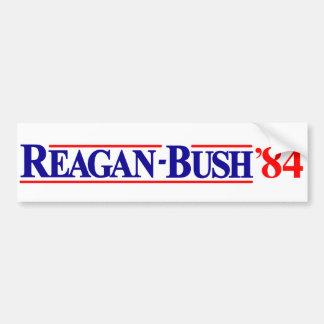 Campaña de Ronald Reagan George Bush 1984 Pegatina Para Coche