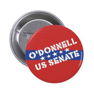 Campaña de senado de los E.E.U.U. para Christine O Pin