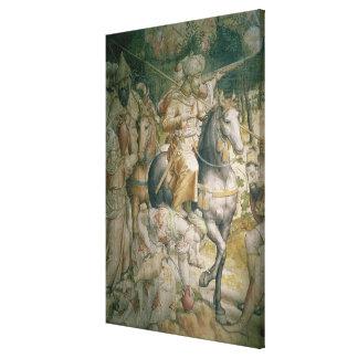 Campaña del emperador Charles V contra los turcos Lona Estirada Galerias