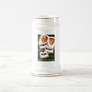 Campaña del libro de la victoria jarra de cerveza