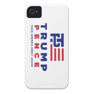 Campaña electoral 2016 de los peniques de Donald iPhone 4 Protectores