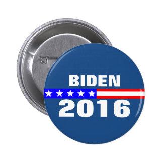 Campaña electoral de presidencial de Biden 2016 Pin Redondo 5 Cm