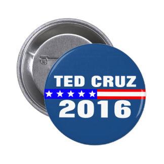 Campaña electoral de presidencial de Ted Cruz 2016 Pin Redondo De 2 Pulgadas