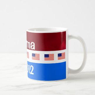 Campaña electoral de presidencial Obama 2012 Taza