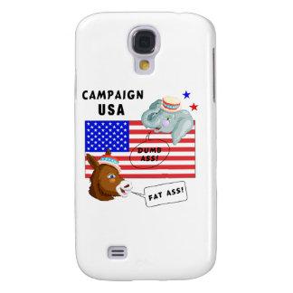 Campaña los E.E.U.U. del día de elección Funda Para Galaxy S4