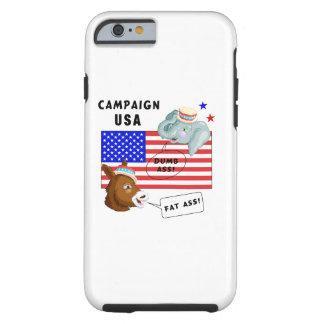 Campaña los E.E.U.U. del día de elección Funda Resistente iPhone 6