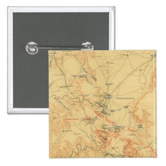 Campaña media de Tennessee Pin Cuadrada 5 Cm