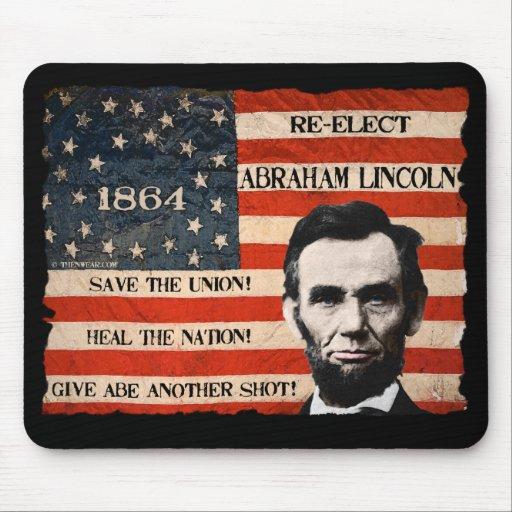 Campaña Mousepad de Abraham Lincoln 1864