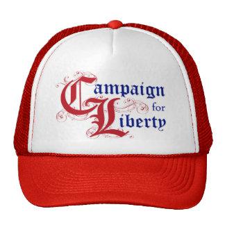 Campaña para el logotipo Red Hat de la libertad Gorros