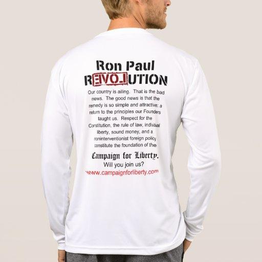 campaña para el ojo de águila de la libertad camisetas