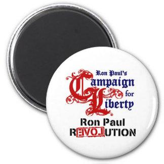 Campaña para la libertad Ron Paul Imán Redondo 5 Cm