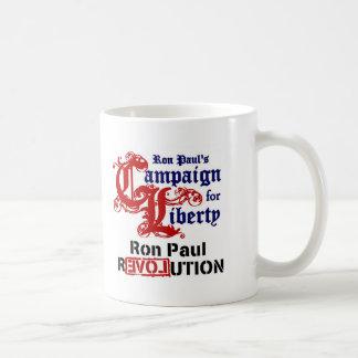 Campaña para la libertad Ron Paul Taza Clásica