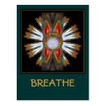 Campaña para la serie de respiración postales