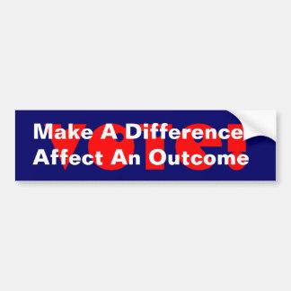 Campaña para salir del palillo de las pegatinas pa pegatina de parachoque