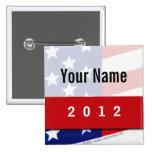 Campaña política, barras y estrellas de CYO Pins