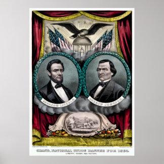 Campaña presidencial 1864 de Abraham Lincoln Impresiones