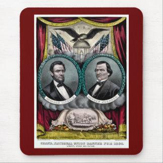 Campaña presidencial 1864 de Abraham Lincoln Tapete De Ratones