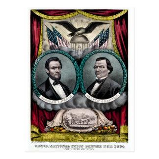 Campaña presidencial 1864 de Abraham Lincoln Tarjetas Postales