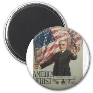 Campaña presidencial 1920 iman de frigorífico