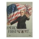 Campaña presidencial 1920 tarjetas publicitarias