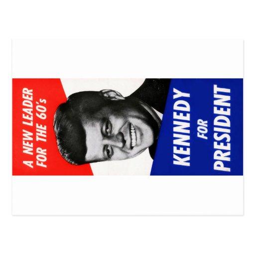 Campaña presidencial 1960 de Kennedy Postales