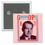 Campaña presidencial 1972 de Nixon Pin