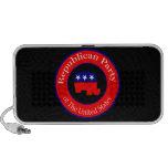 Campaña republicana iPod altavoz