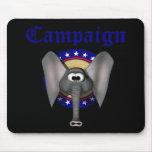 Campaña republicana tapete de raton
