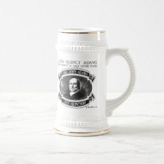 Campaña Stein de John Quincy Adams 1824 Jarra De Cerveza