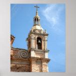 Campanario de la iglesia, Puerto Vallarta, México Posters