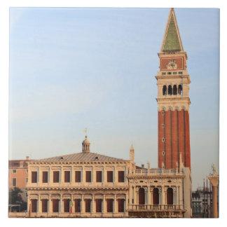 Campanario, plaza San Marco, Venecia Azulejos Ceramicos