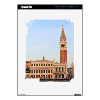 Campanario, plaza San Marco, Venecia iPad 3 Skins