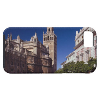 Campanario y catedral, Madrid, España de Giralda iPhone 5 Carcasas