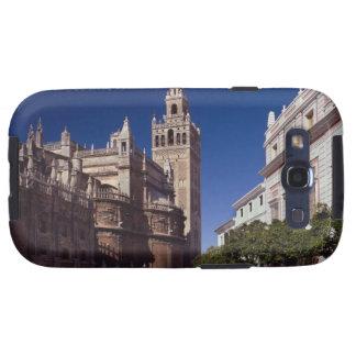 Campanario y catedral, Madrid, España de Giralda Samsung Galaxy S3 Funda
