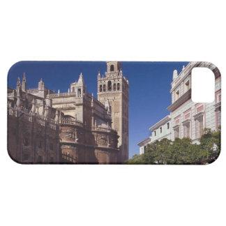 Campanario y catedral, Madrid, España de Giralda iPhone 5 Case-Mate Cárcasa