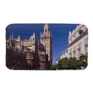 Campanario y catedral, Madrid, España de Giralda Case-Mate iPhone 3 Carcasas