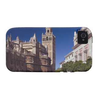 Campanario y catedral, Madrid, España de Giralda Vibe iPhone 4 Carcasas