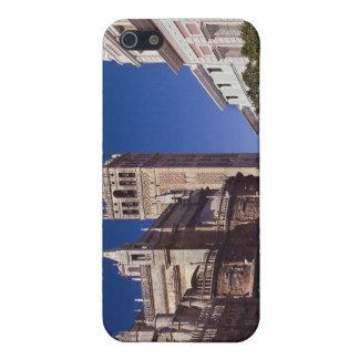 Campanario y catedral, Madrid, España de Giralda iPhone 5 Cárcasas