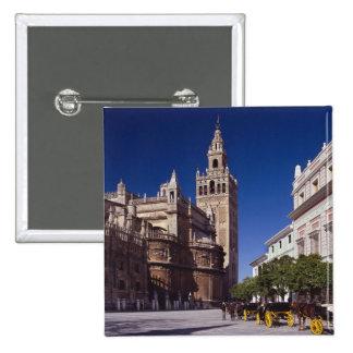 Campanario y catedral, Madrid, España de Giralda Pin