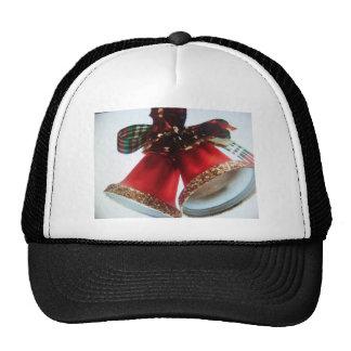 campanas de navidad gorra