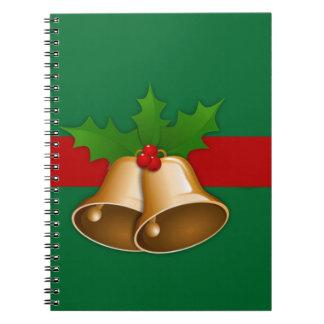 Campanas de navidad cuaderno