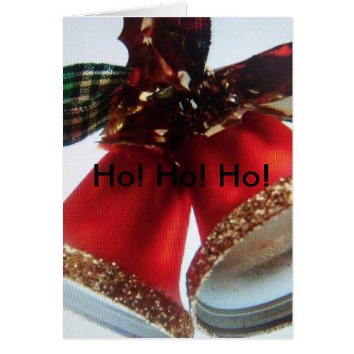 campanas de navidad (tarjeta)