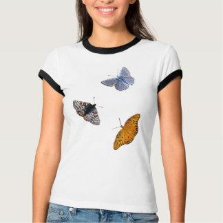 Campanero de la ropa de las mariposas polera