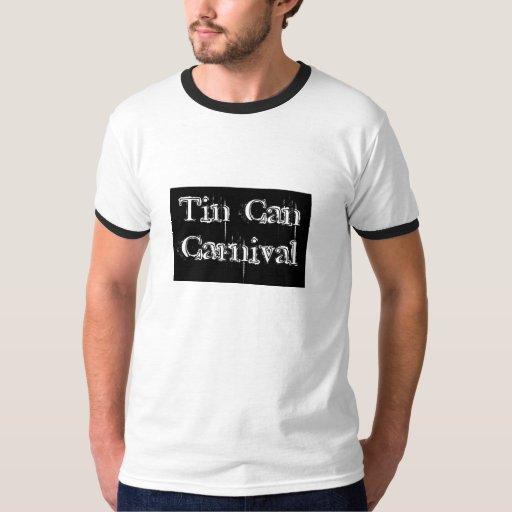 Campanero del carnaval de la lata playera