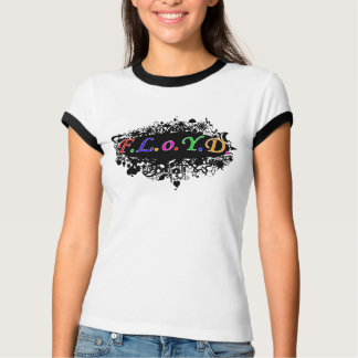 ¡Campanero del logotipo de FLoYD de las señoras! Playeras