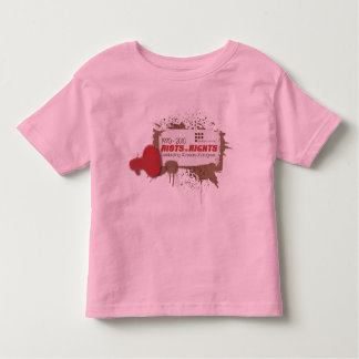 Campanero del niño de los alborotos t shirt