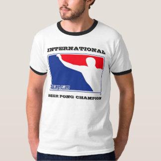 Campanero internacional del campeón de Pong de la Playera