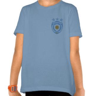 Campanero personalizado T de los chicas del jersey