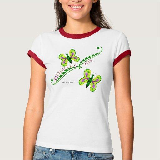 Campanero T de las señoras de la roca de las marip Camisetas