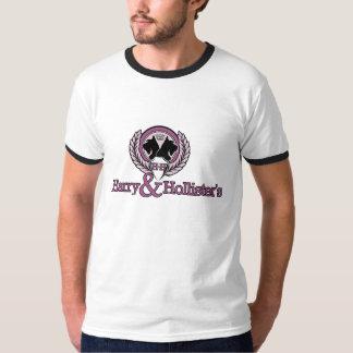 Campanero T - negro del logotipo de Harry y de Camisas